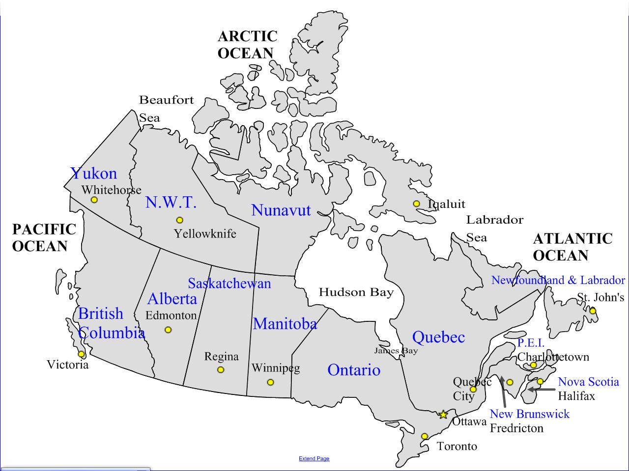 Mapa De Carreteras De Canada Mapa De Carreteras De Canada Y